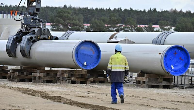 EU says opposes US sanctions on Russia gas pipeline