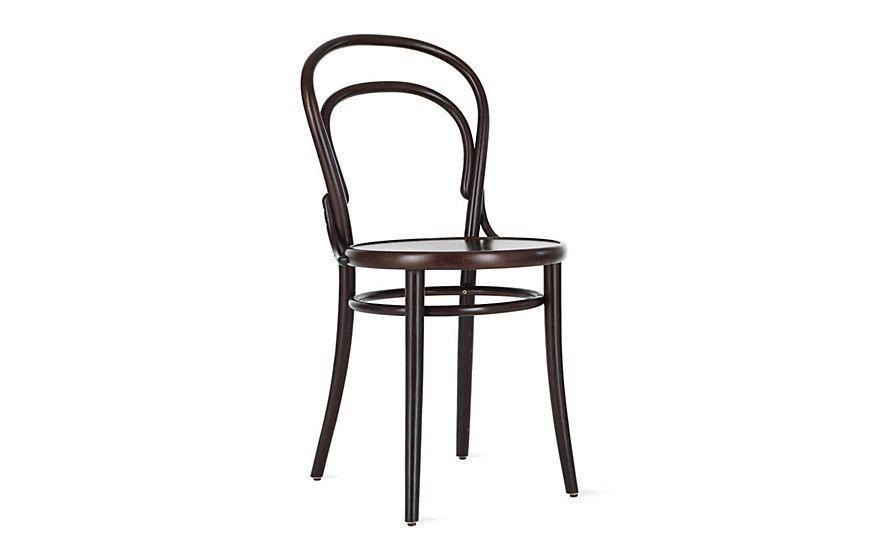 """<p><strong>Michael Thonet</strong></p><p>dwr.com</p><p><a href=""""https://go.redirectingat.com?id=74968X1596630&url=https%3A%2F%2Fwww.dwr.com%2Fdining-chairs-and-stools%2Fera-chair%2F3934.html&sref=https%3A%2F%2Fwww.housebeautiful.com%2Fdesign-inspiration%2Fg30750815%2Fchair-types-styles-designs%2F"""" rel=""""nofollow noopener"""" target=""""_blank"""" data-ylk=""""slk:Shop Now"""" class=""""link rapid-noclick-resp"""">Shop Now</a></p><p>In 1859, German cabinetmaker Michael Thonet created what would come to be the quintessential restaurant chair. Defined by its round seat and bentwood back, the Era chair (sometimes called a Thonet chair) is both lightweight and durable, making it ideal for commercial settings. Notable fans of the chair include Le Corbusier and Pierre-Auguste Renoir. </p>"""
