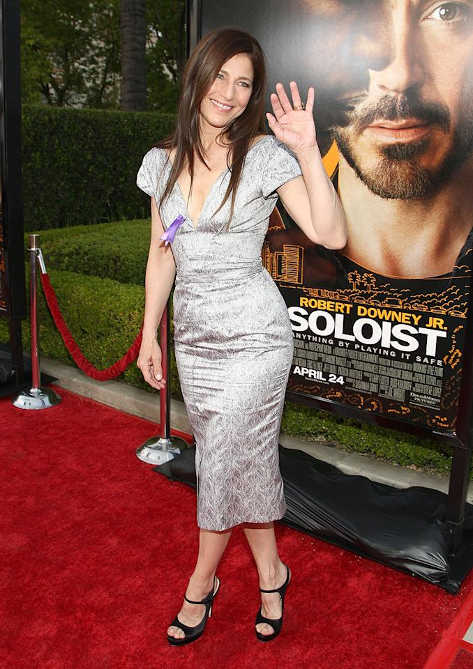 "<a href=""http://movies.yahoo.com/movie/contributor/1800012212"">Catherine Keener</a> at the Los Angeles premiere of <a href=""http://movies.yahoo.com/movie/1809986571/info"">The Soloist</a> - 04/20/2009"