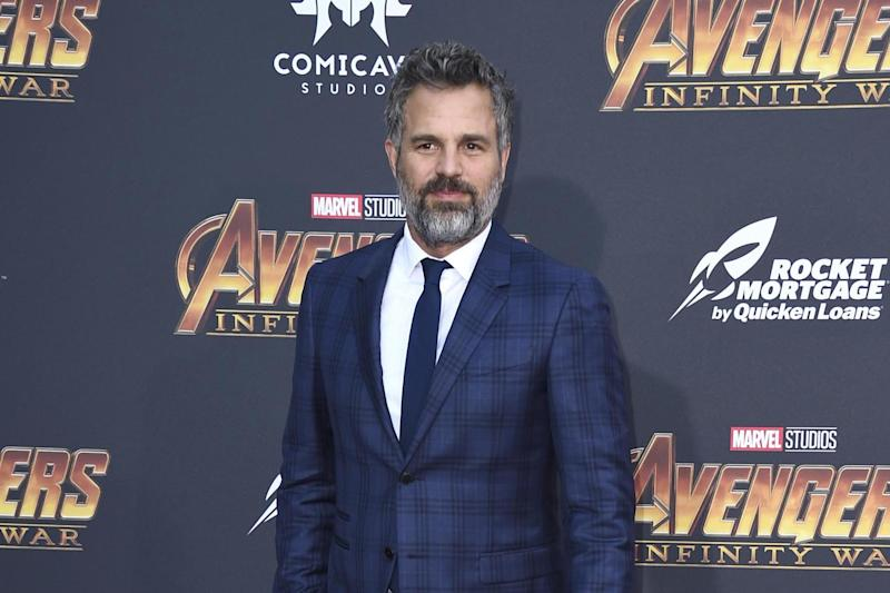 "Mark Ruffalo arrives at the world premiere of ""Avengers: Infinity War"" (filephoto): Invision"