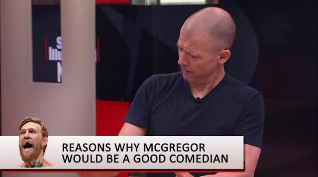 Jim Norton: Conor McGregor would do well as a comedian
