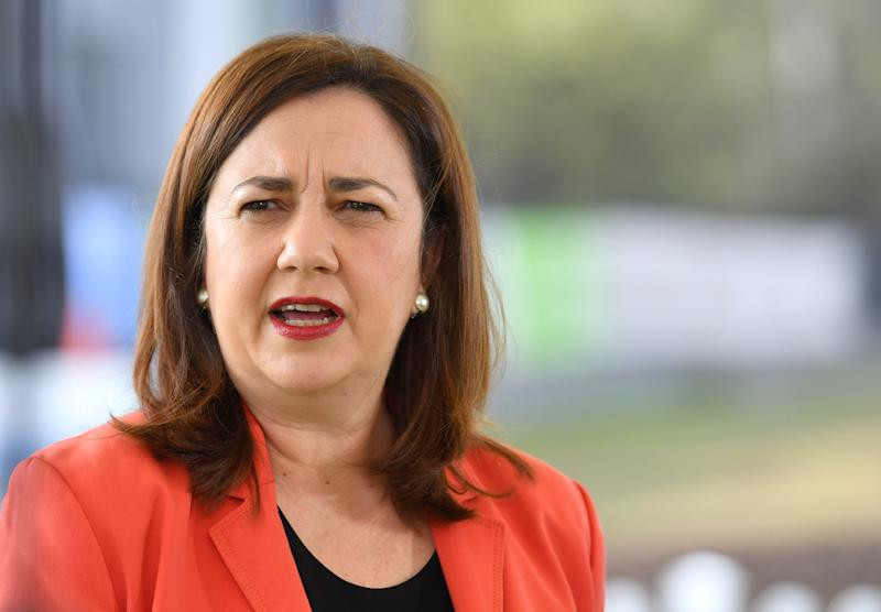 Queensland Premier Annastacia Palaszczuk has come under fire over the border situation, with Prime Minister Scott Morrison saying he has had to raise multiple cases with her. Source: AAP
