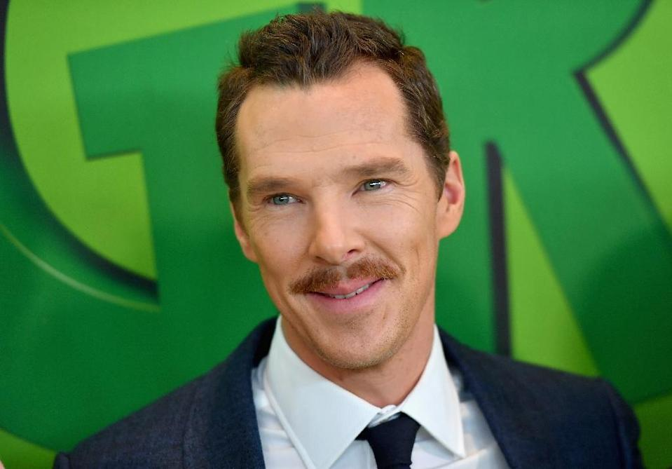 """Benedict Cumberbatch voiced """"The Grinch"""" (AFP Photo/Angela Weiss)"""