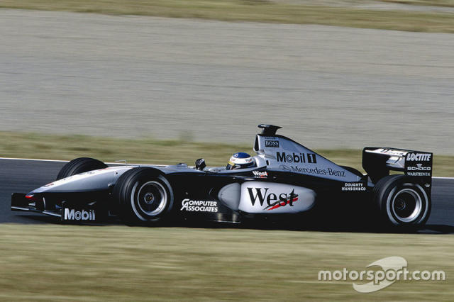 "1999: McLaren-Mercedes MP4/14 <span class=""copyright"">LAT Images</span>"