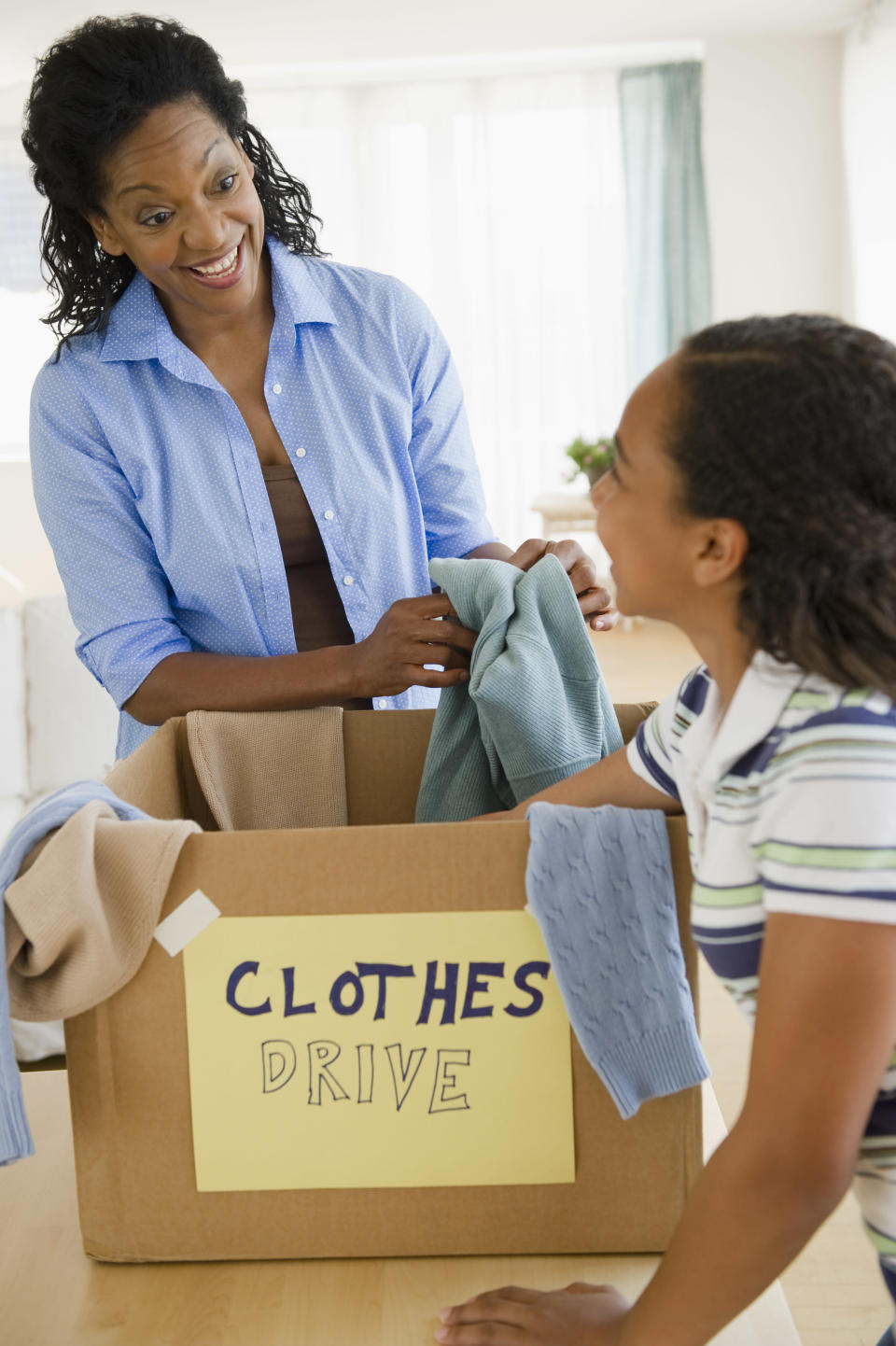 Clothes can be taken to more places than charity bins. Photo: Getty