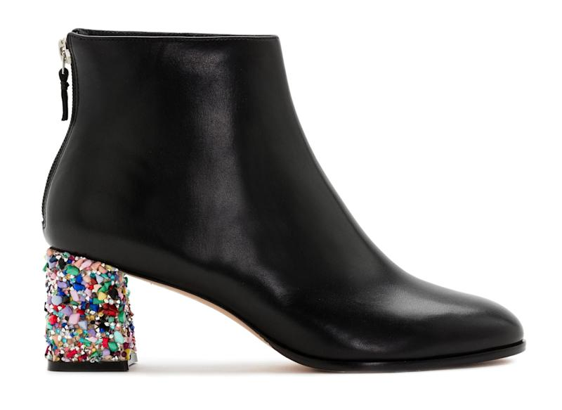 Sophia Webster crystal heel boots, £495, (sophiawebster.com) (Sophia Webster)