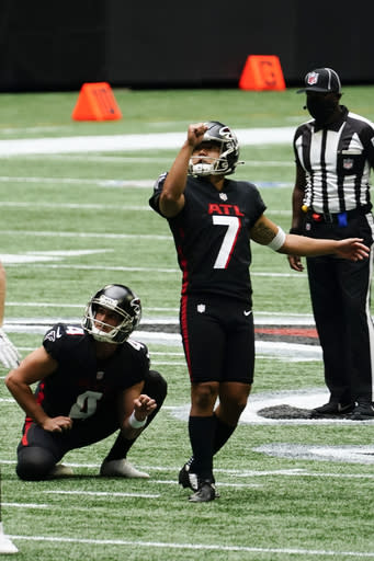 Falcons rule out Koo, McKinley, Allen and Neal vs Packers