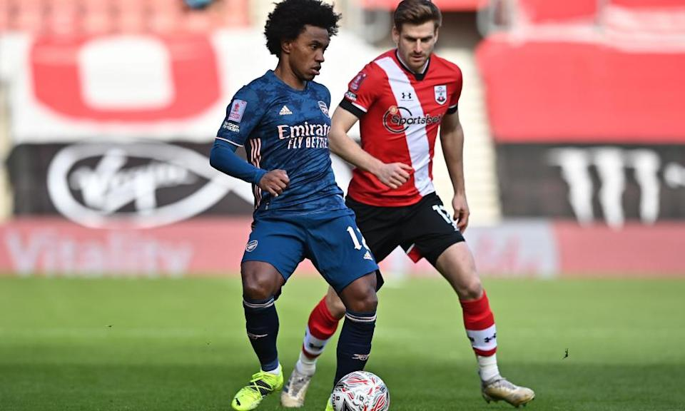 Willian has struggled to prove himself in an Arsenal shirt.