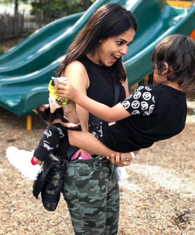 Genelia Deshmukh Birthday Wish for son