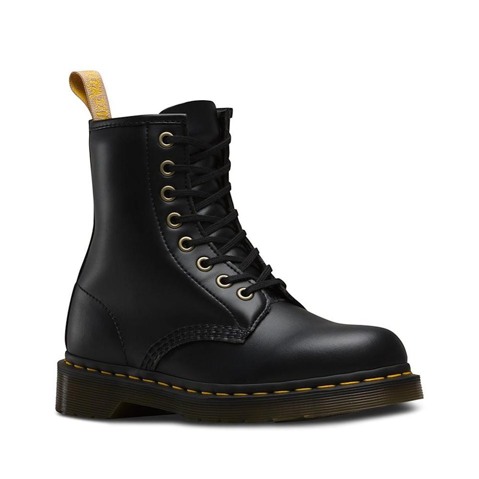 <p>Finally, Dr Marten have just bought out a vegan range of boots and shoes - hooray! <i>[Photo: Dr Marten]</i></p>