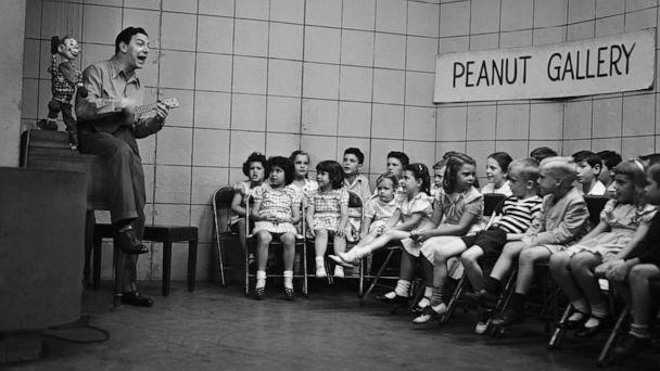 PHOTO: Howdy Doody, Bob Smith as Buffalo Bob Smith entertains the 'Peanut Gallery' on an episode of 'Howdy Doody.' (NBCUniversal via Getty Images, FILE)