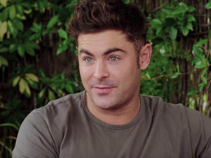 zac efron down to earth france