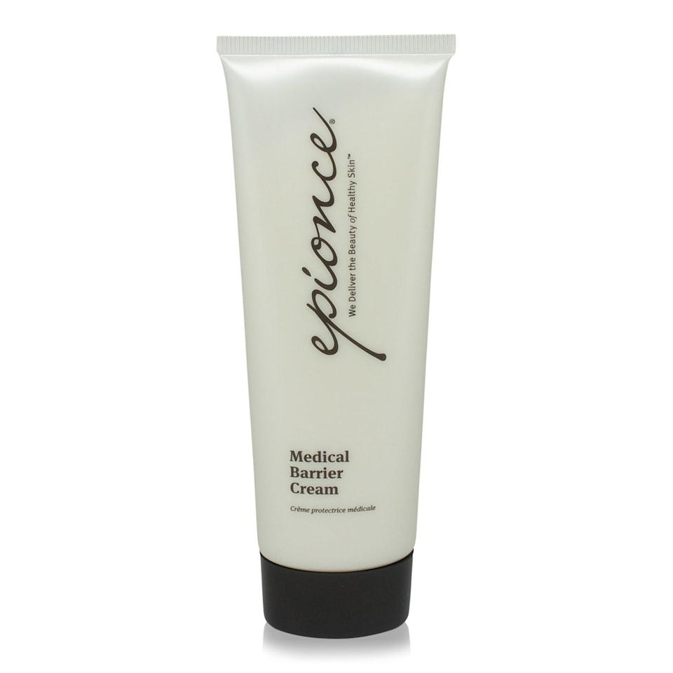 """<p>Dermatologist Carl Throfeldt developed Epionce's Medical Barrier Cream to help repair the skin barrier and curb chronic inflammation. Comprised of rosehip, meadowfoam seed, and avocado oils, it aids in not only deeply nourishing the skin but in locking in moisture, too. This way the skin is able to replenish itself <em>and</em> remain in a happy state.</p> <p><strong>$46</strong> (<a href=""""https://shop-links.co/1638882034602428594"""" rel=""""nofollow noopener"""" target=""""_blank"""" data-ylk=""""slk:Shop Now"""" class=""""link rapid-noclick-resp"""">Shop Now</a>)</p>"""