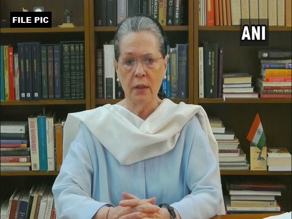 Congress Parliamentary Party chairperson Sonia Gandhi (File Photo/ANI)