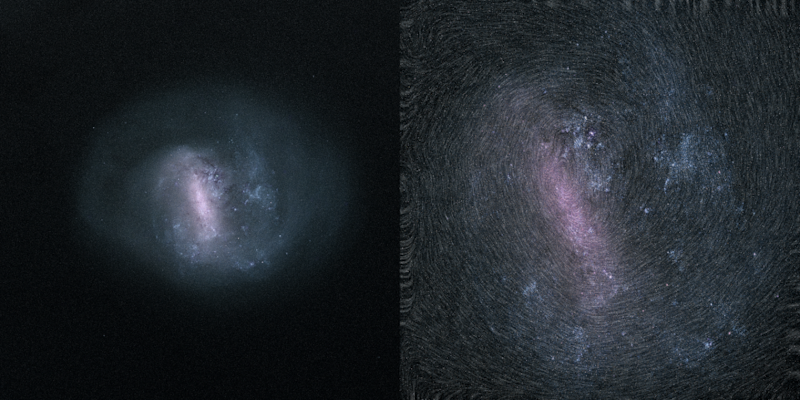 $ _ 26_Large Magellanic Cloud Still and Rotation