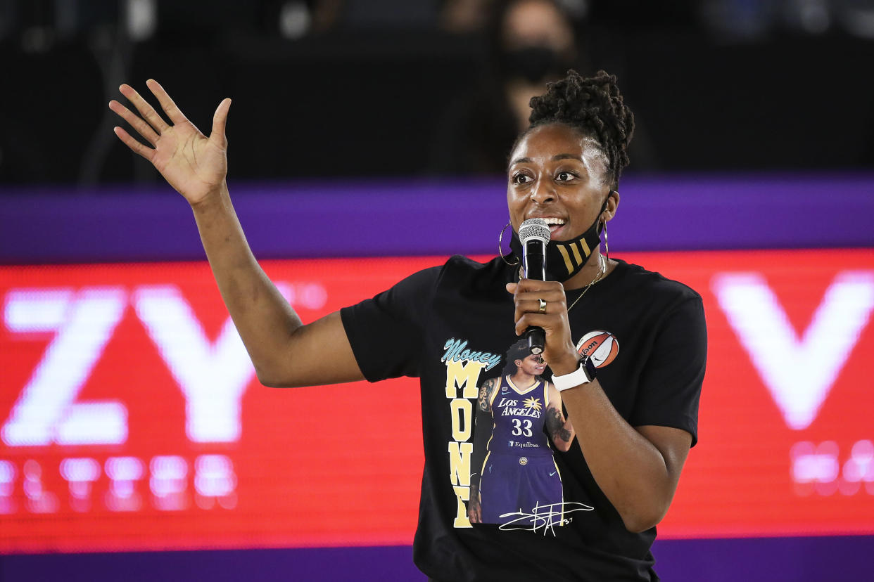 Nneka Ogwumike's work as WNBPA president and her on-court accomplishments made her a lock for the W25 list. (Meg Oliphant/Getty Images)