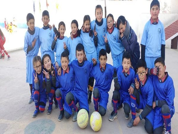 Ladakhi kids participating in Golden Baby Leagues (Photo/ AIFF)