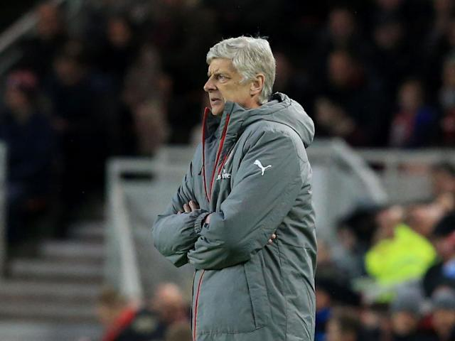Wenger has faced unprecedented calls to step down this season (Getty)
