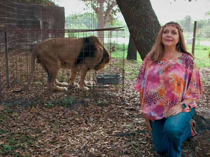 <p>Many people believe unsubstantiated claims that Baskin who runs Big Cat Rescue in Florida fed her ex-husband Don Lewis to tigers after he vanished in 1997</p>