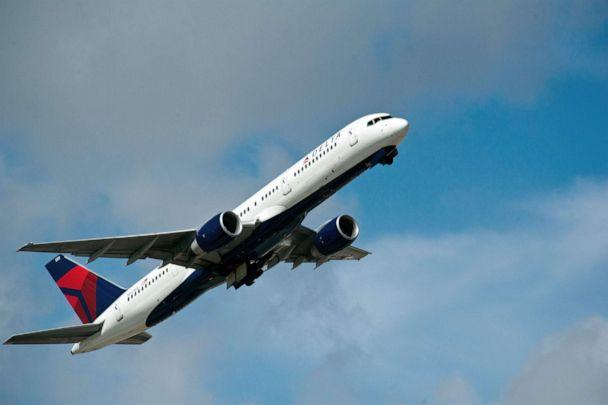 PHOTO: In this file photo taken on Feb. 21, 2013, a Delta Airlines jet takes off from Fort Lauderdale-Hollywood International Airport. (Karen Bleier/AFP via Getty Images)