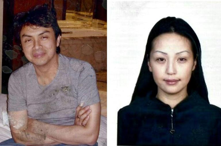 Altantuya Shaariibuu (R), the Mongolian mistress of Abdul Razak Baginda (L), a close associate of ousted Malaysian premier Najib Razak, was blown up with military-grade plastic explosives near Kuala Lumpur in 2006