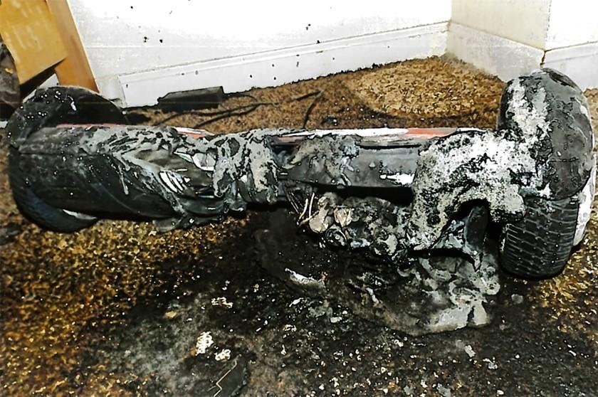 """A toy hoverboard that """"severely burned"""" a California woman"""