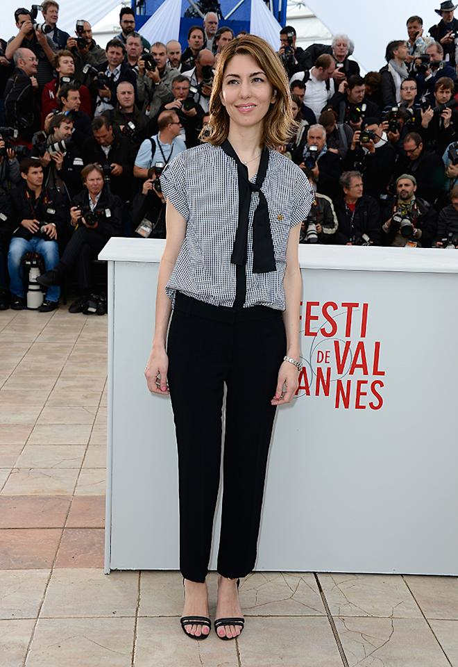 CANNES, FRANCE - MAY 16:  Director Sofia Coppola attends 'The Bling Ring' photocall during the 66th Annual Cannes Film Festival at Palais des Festival on May 16, 2013 in Cannes, France.  (Photo by Pascal Le Segretain/Getty Images)