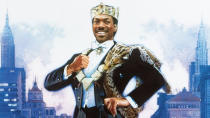 Eddie Murphy returned to the Hollywood fold with this year's impressive <em>Dolemite Is My Name</em> and he's now making sequels to several of his earlier classics. First up is <em>Coming to America</em>, in which Murphy played the crown prince of African kingdom Zamunda. This time around, he discovers a long lost son. (Credit: Paramount)