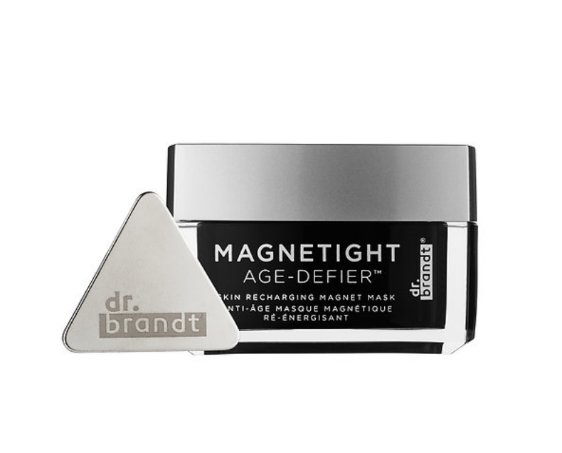"""<p>This anti-aging, iron-infused mask from Dr. Brandt is packed with powerful ingredients, but what really sets it apart is the tool for removal. After you let the mask set for 10 minutes on the skin, you use a magnet (wrapped in a tissue to capture the mask particles) to actually remove the mask. Since the facial treatment is iron-infused, the particles are lifted off the face fairly quickly and easily. Afterward, you're left with dewy skin from the essential oils in the mask that you can simply massage into the skin. $75, <a rel=""""nofollow"""" href=""""http://www.sephora.com/magnetight-age-defier-P411254"""">sephora.com</a><em> </em>(Photo: Dr. Brandt) </p>"""