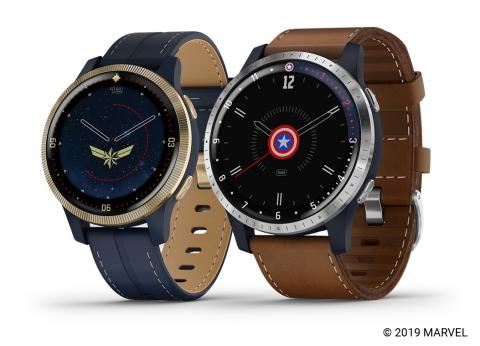Garmin introduces the Legacy Hero Series, a collection of Marvel-themed special edition smartwatches and app experiences.