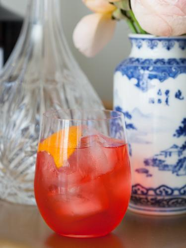 """<div class=""""caption-credit"""">Photo by: Stephanie Stanley</div><div class=""""caption-title"""">Negroni twist</div>Steal this not-too-bitter take on one of our favorite before-dinner drinks, the Negroni, which subs in Rhubarb Tea for gin. <p> 2 parts Rhubarb Tea <br> 2 parts Campari <br> 2 dashes Rose's lime juice <br> Orange rind, for garnish </p> <p> Mix ingredients in a mixing tin. Roll back and forth into shaker and serve over ice in a rocks glass. Garnish with orange rind. </p> <p> <br> </p> <ul> <li> <b><a rel=""""nofollow noopener"""" href=""""http://www.redbookmag.com/recipes-home/tips-advice/party-food-recipes?link=relt&dom=yah_life&src=syn&con=blog_redbook&mag=rbk"""" target=""""_blank"""" data-ylk=""""slk:The 30 Best Party Foods of All Time"""" class=""""link rapid-noclick-resp"""">The 30 Best Party Foods of All Time</a></b> </li> <li> <a rel=""""nofollow noopener"""" href=""""http://www.redbookmag.com/recipes-home/tips-advice/classic-cocktails?link=relt&dom=yah_life&src=syn&con=blog_redbook&mag=rbk"""" target=""""_blank"""" data-ylk=""""slk:6 Classic Cocktails to Sip Now"""" class=""""link rapid-noclick-resp""""><b>6 Classic Cocktails to Sip Now</b></a> </li> </ul>"""