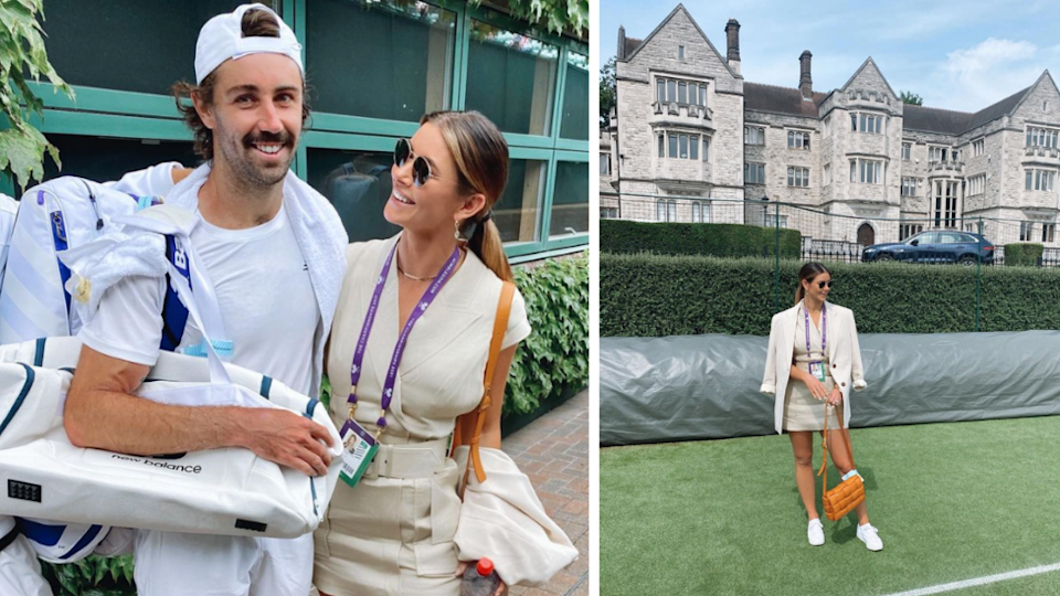 Brittany Hockley is officially a Wimbledon WAG