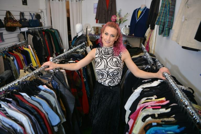 Sarah Freeman set up the Clothes Library store in Sydney, where customers can borrow and return quality secondhand clothes for a small monthly subscription fee