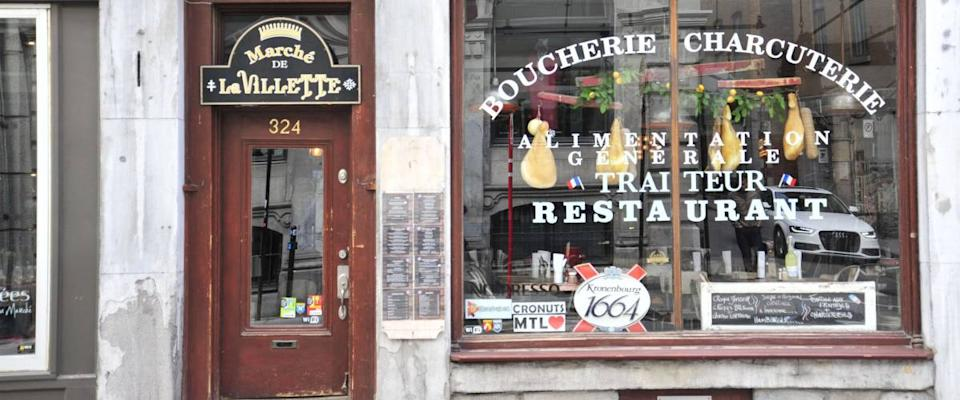 A historic restaurant in the heart of Old Montreal