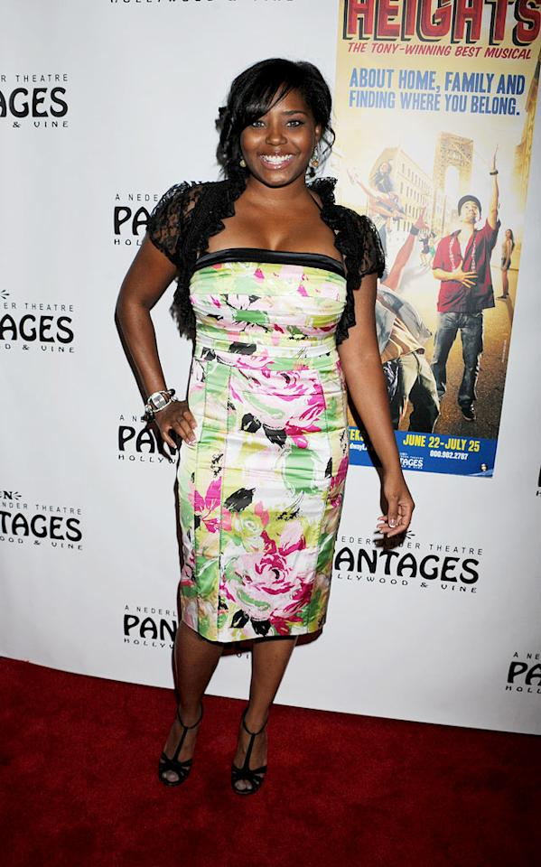 "Kevin Federline's ex, ""actress"" Shar Jackson, hit the red carpet for the LA premiere of ""In The Heights"" in this unfortunate look, which featured a bedspread-esque dress and a chintzy-looking, lace bolero. Jeffrey Mayer/<a href=""http://www.wireimage.com"" target=""new"">WireImage.com</a> - June 23, 2010"