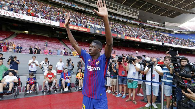 Ousmane Dembele can fill Neymar shoes at Barcelona says Umtiti