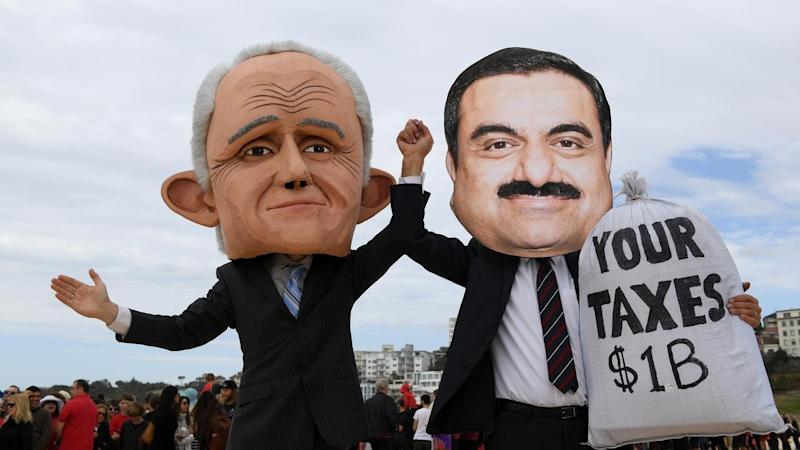 Thousands take part in anti-Adani rallies