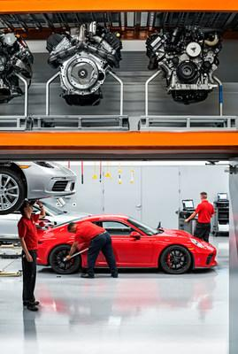 Top students from Universal Technical Institute's automotive program are recruited from across the country for the Porsche Technician Apprenticeship Program (PTAP).