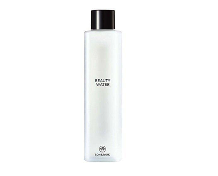 """<p>This <a rel=""""nofollow"""" href=""""https://theklog.co/beauty-water/"""" rel=""""nofollow"""">multipurpose beauty water</a> can be used as a pre-makeup toner to prep the skin and also as a gentle cleanser.</p> <p><strong>Buy it:</strong> $30, <a rel=""""nofollow"""" href=""""https://www.sephora.com/product/beauty-water-P409633"""" rel=""""nofollow"""">Sephora</a></p>"""