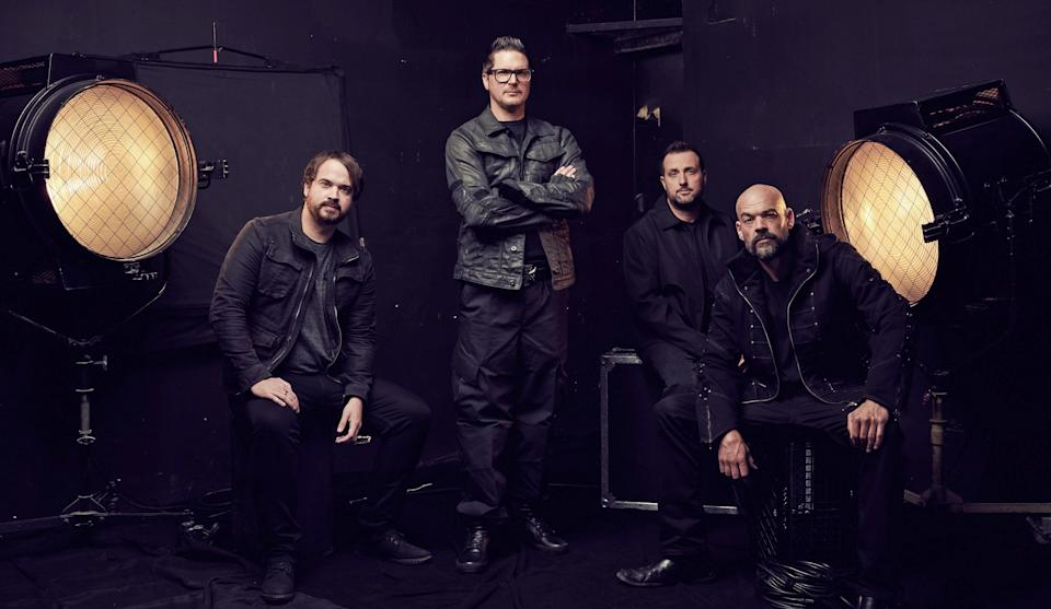 """Jay Wasley, Zak Bagans, Billy Tolley and Aaron Goodwin of """"Ghost Adventures."""""""