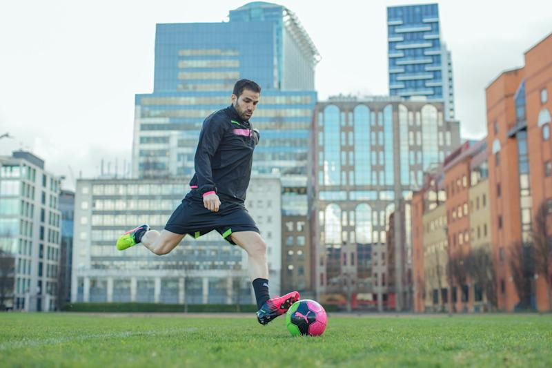 new photos d986f 90ec7 Fabregas  PUMA Tricks boots are definitely a bold choice
