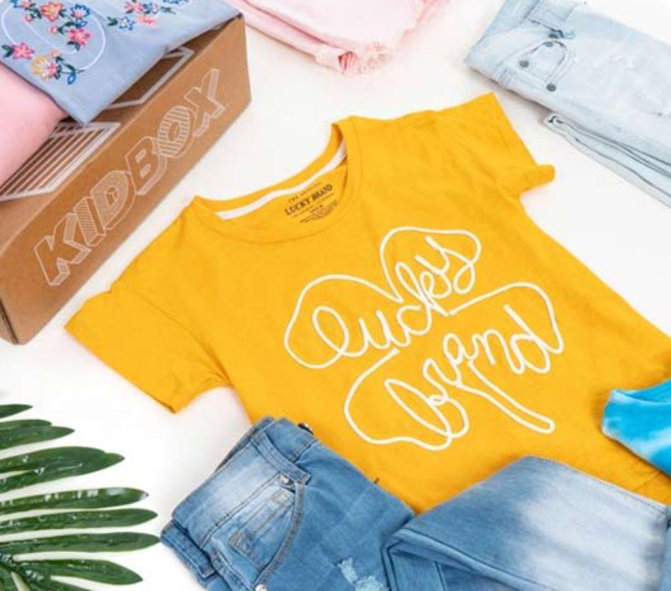 """Got a kid who is all about clothes? <a href=""""https://fave.co/2Uf6jD2"""" target=""""_blank"""" rel=""""noopener noreferrer"""">KIDBOX</a> provides """"personalized shopping for your children."""" The subscription service offers clothes for boys and girls ages 2 to 14, and babies size 0 to 24 months. With help from a style quiz, the folks at Kid Box will send six to seven items that go with your child's style. And according to its site, for every KIDBOX sold, the company will give a new clothing item """"to a child who really needs it through a charity of your choice."""" A whole <a href=""""https://fave.co/2Uf6jD2"""" target=""""_blank"""" rel=""""noopener noreferrer"""">baby box costs $58, and the regular box is $98</a> (although parents are not obligated to keep all the items)."""