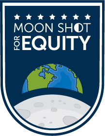 Moon Shot for Equity logo