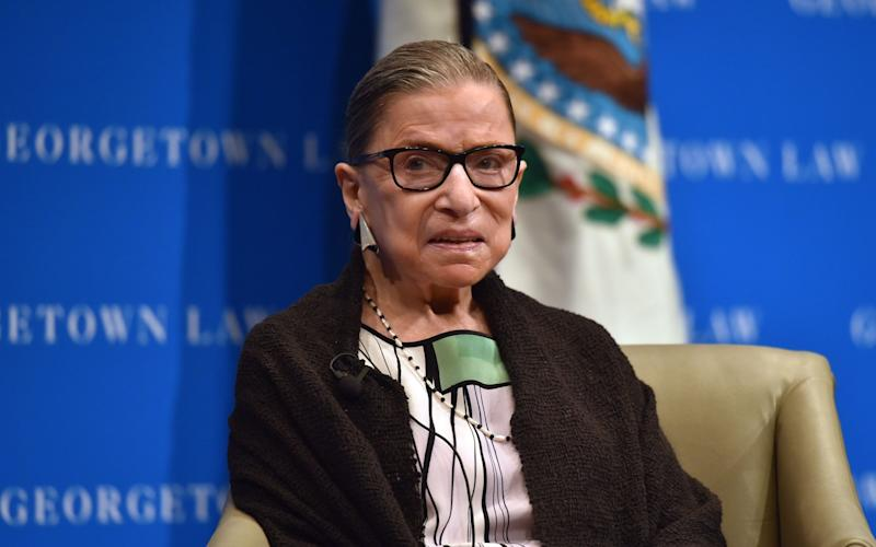 Ruth Bader Ginsburg died of complications from cancer aged 87 - Nicholas Kamm/AFP