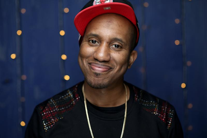 PARK CITY, UTAH - JANUARY 26: Chris Redd of 'Scare Me' attends the IMDb Studio at Acura Festival Village on location at the 2020 Sundance Film Festival – Day 3 on January 26, 2020 in Park City, Utah. (Photo by Rich Polk/Getty Images for IMDb)