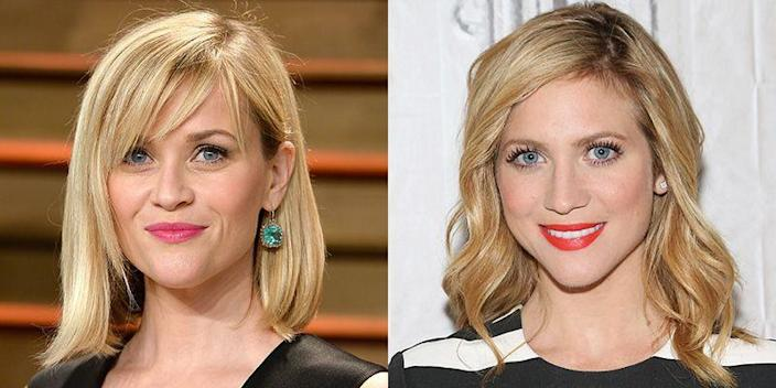 <p>There are a lot of features that Reese Witherspoon and Brittany Snow share. From their blonde hair and blue eyes to their heart-shaped faces and sharp chins.</p>