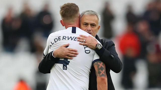 Jose Mourinho is expecting Toby Alderweireld back in training on Saturday despite the recent birth of his son, Jace.
