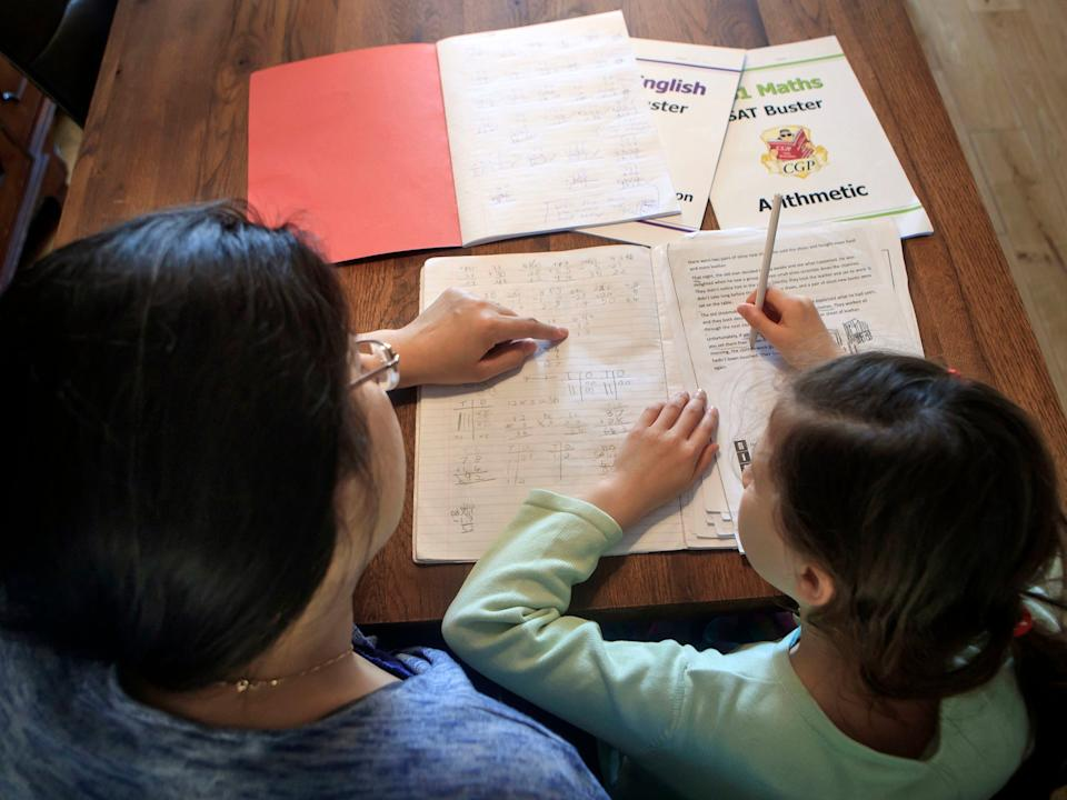<p>Some 25 per cent of women have had to dip into their annual leave allowance to deal with childcare issues</p> (Getty)