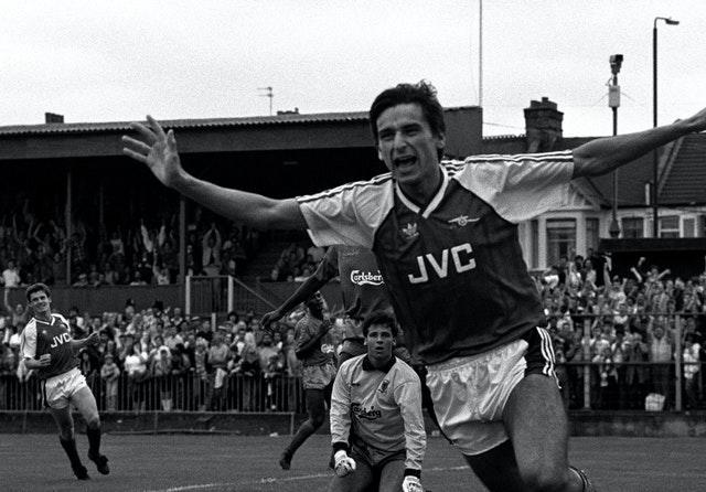 Alan Smith was on target as Arsenal ran out 5-1 winners at Plough Lane in August 1988