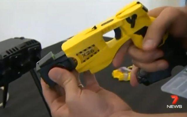 Paramedics could be armed with non-leathal weapons such as tasers. Source: 7 News.